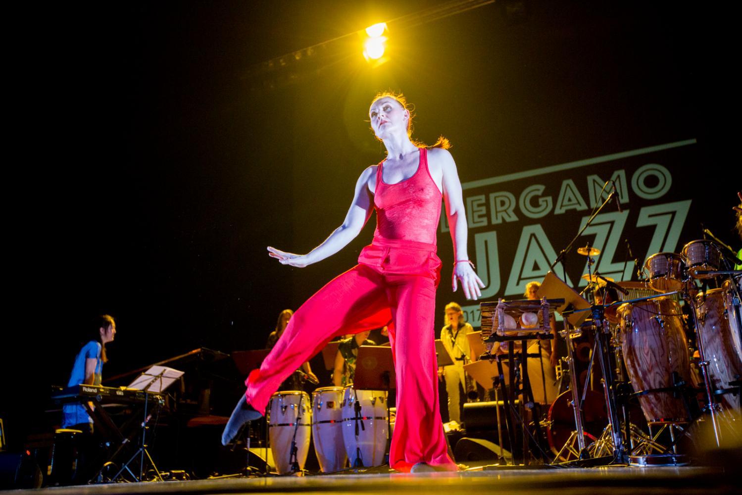 Marilyn Mazur Shamania at Bergamo Jazz 2017