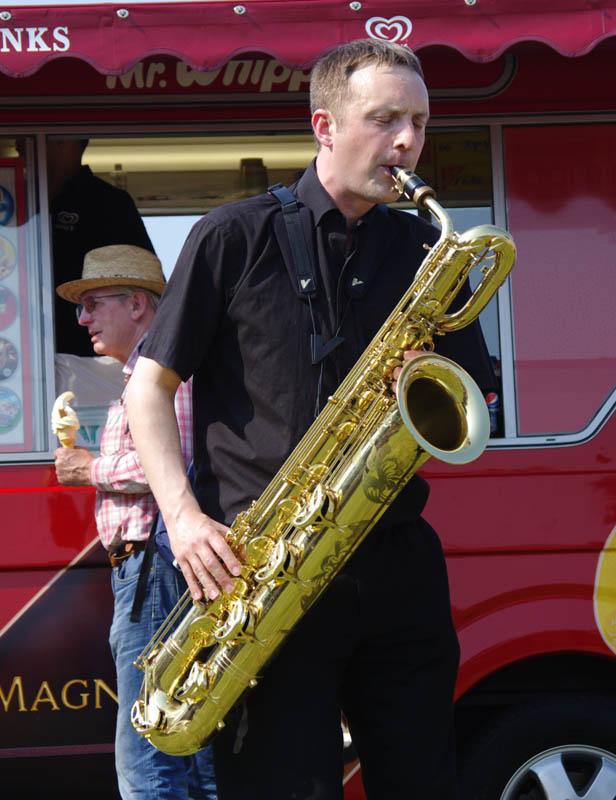 Allon beauvoisin, brass jaw, love supreme jazz festival