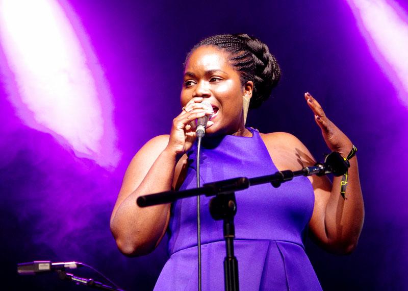 Zara mcfarlane, love supreme jazz festival