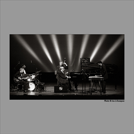 New George Shearing Quintet, North Sea Jazz, the Hague, Holland, July 1996