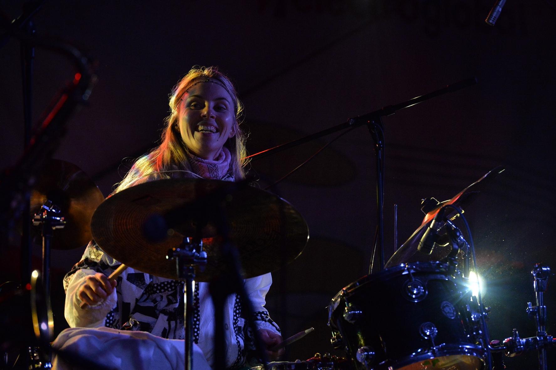 Siv Yunn Kjenstad at Smida Jazz Festival 2017