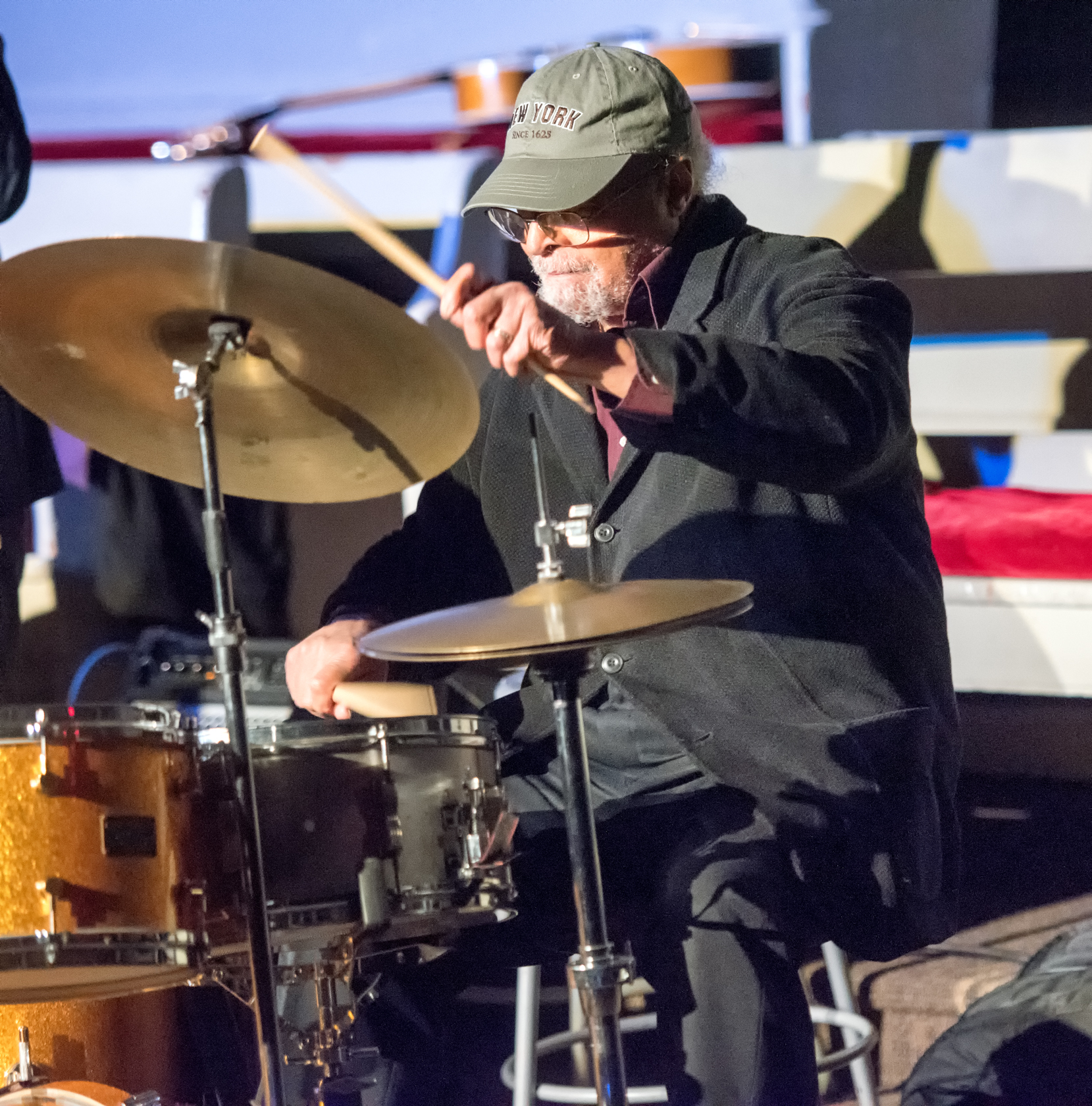 Jimmy Cobb at Jazz Legends Play for Disability Pride at Nyc Winter Jazzfest 2015