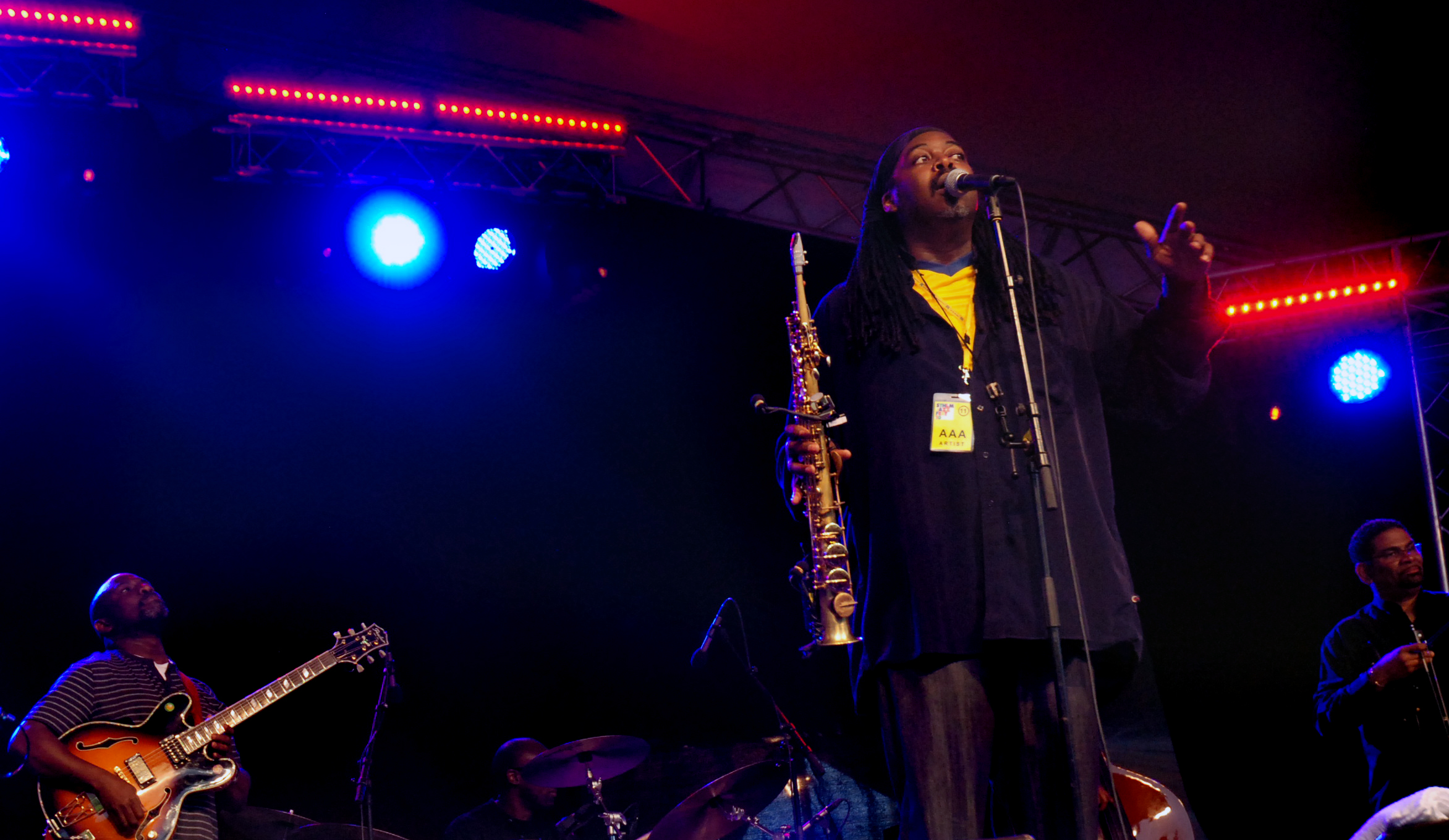 Courtney Pine on Stage