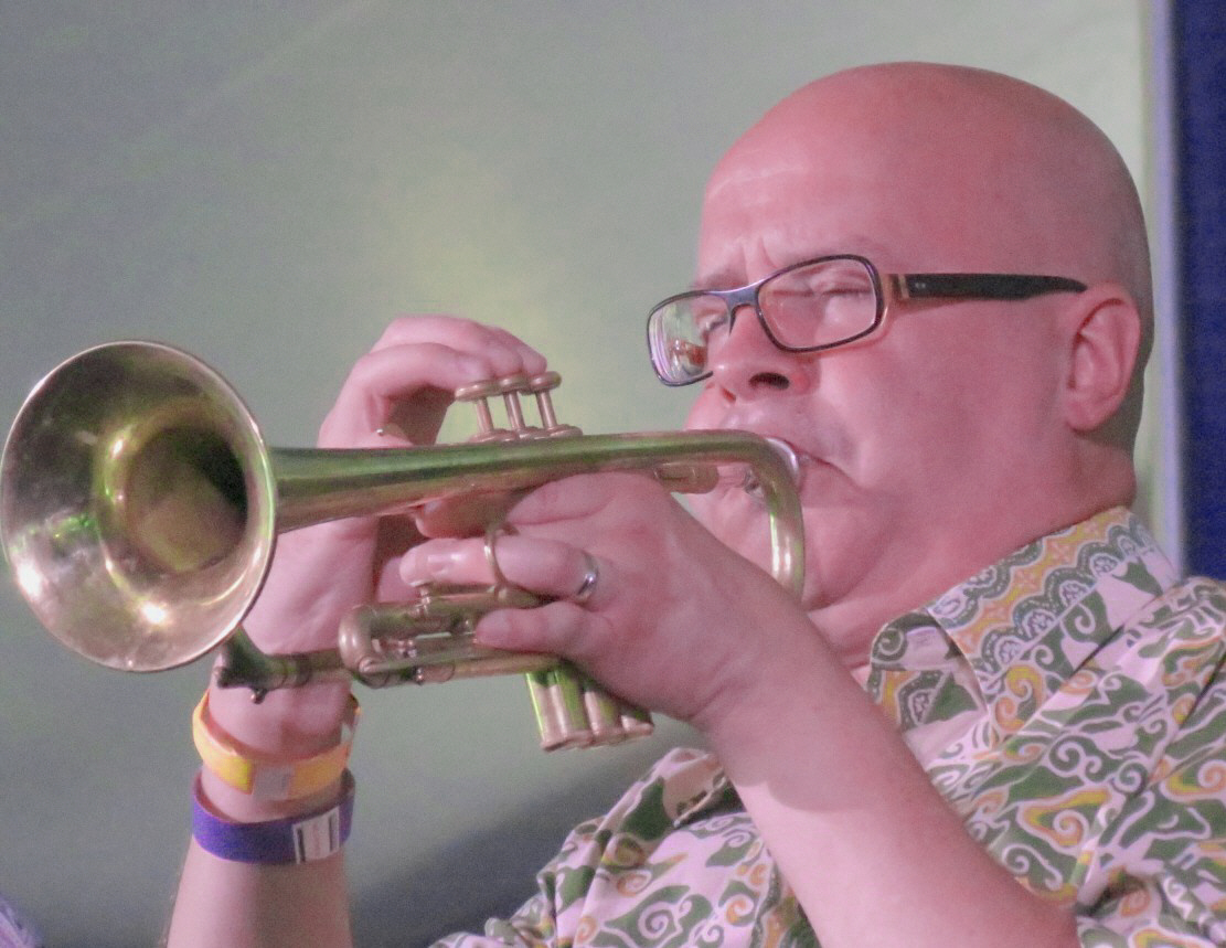 Magnus Broo with Atomic at 2013 Chicago Jazz Festival