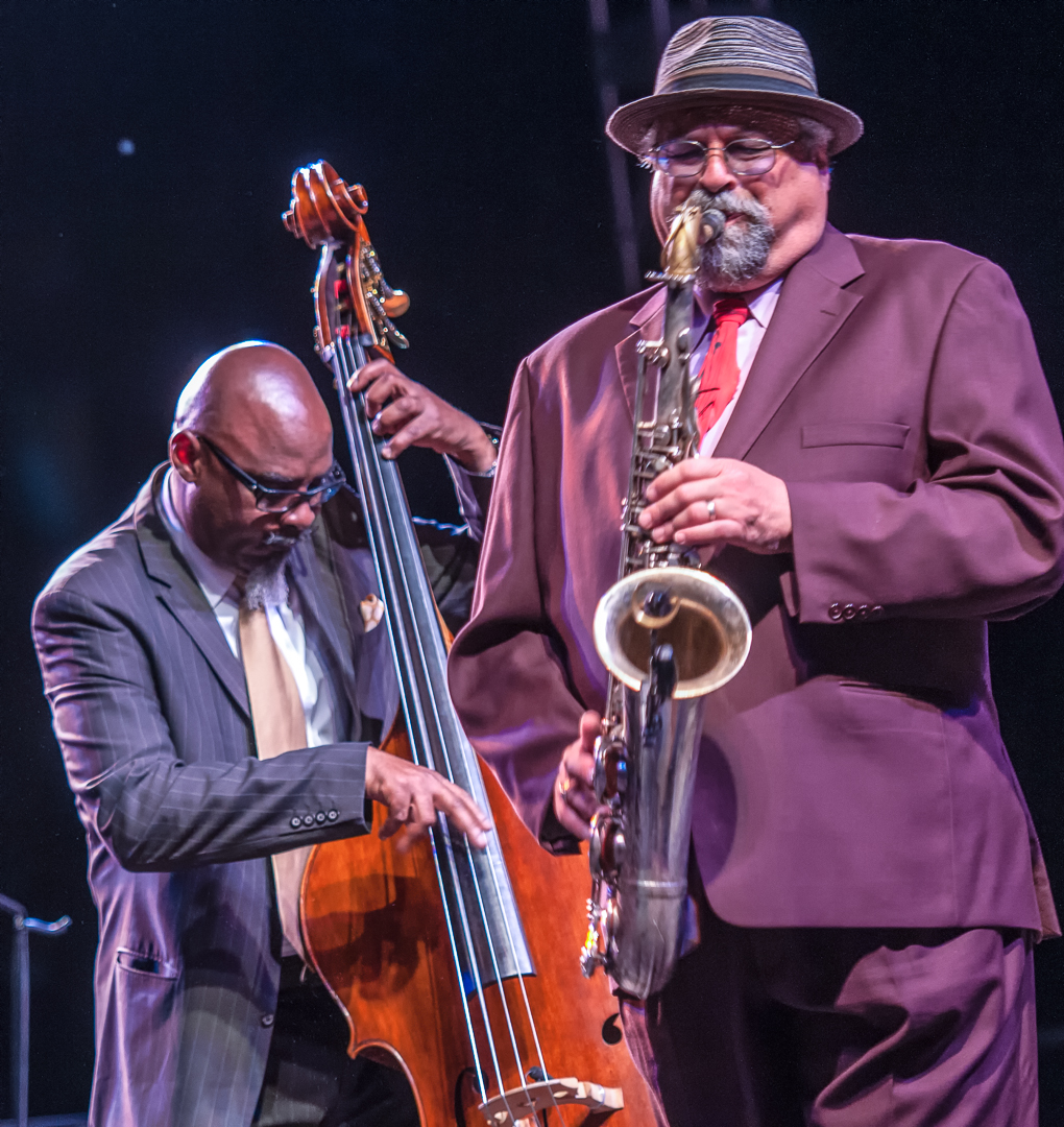 Joe lovano and gerald cannon with the mccoy tyner quartet at the scottsdale performing arts center