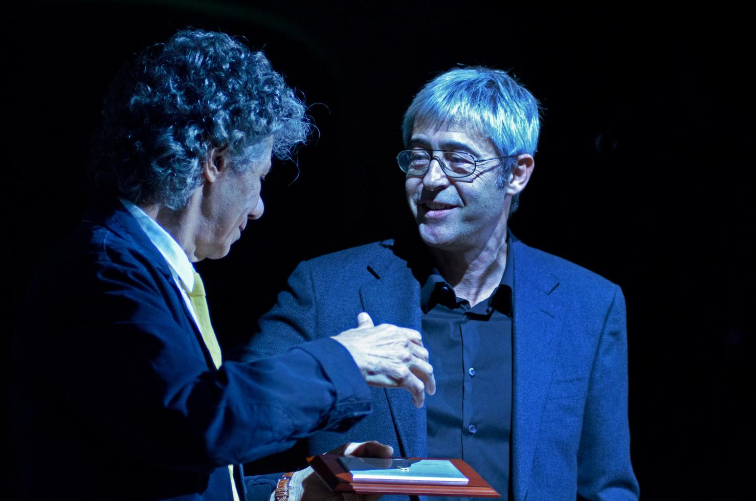 Chick Corea Receives His Barcelona Jazz Festival Gold Medal