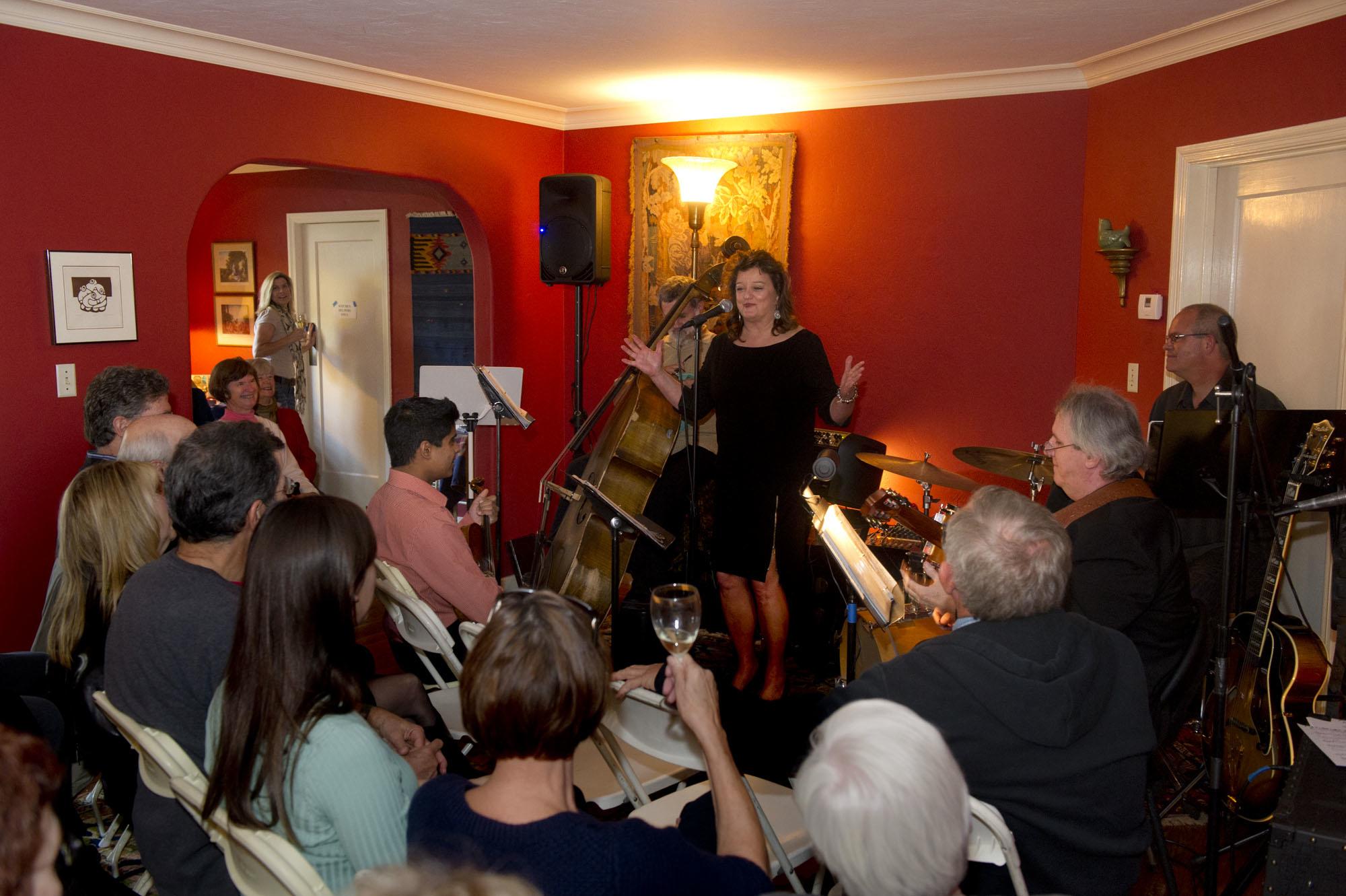 Beth Duncan at Swett's House Concert