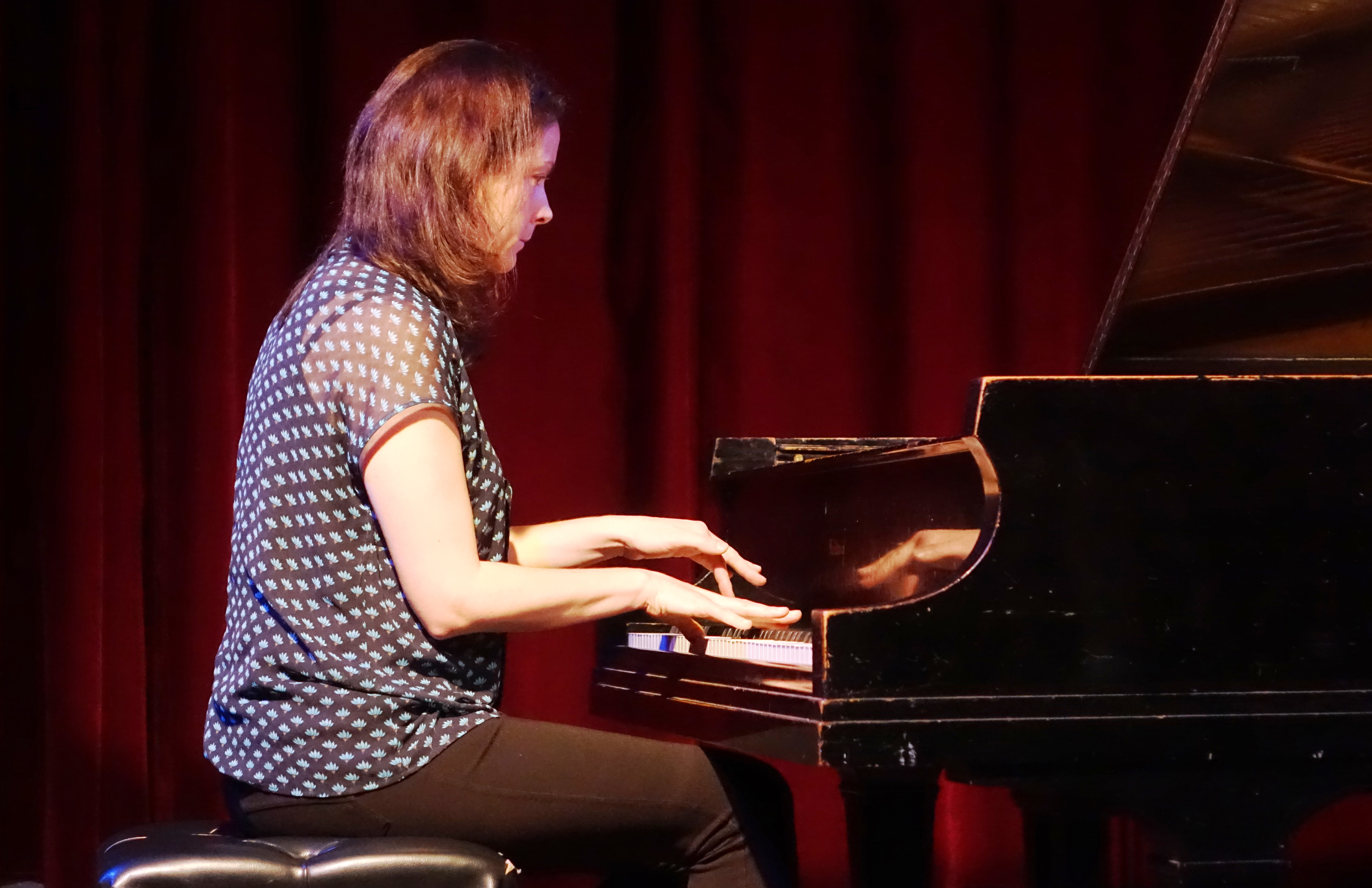 Kris Davis at the Jazz Gallery, NYC in May 2018