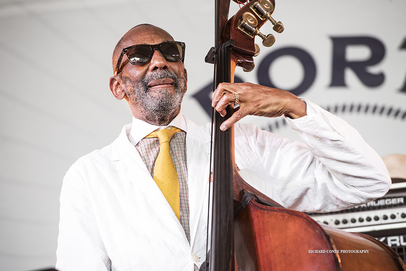 Ron Carter at the 2019 Newport Jazz Festival
