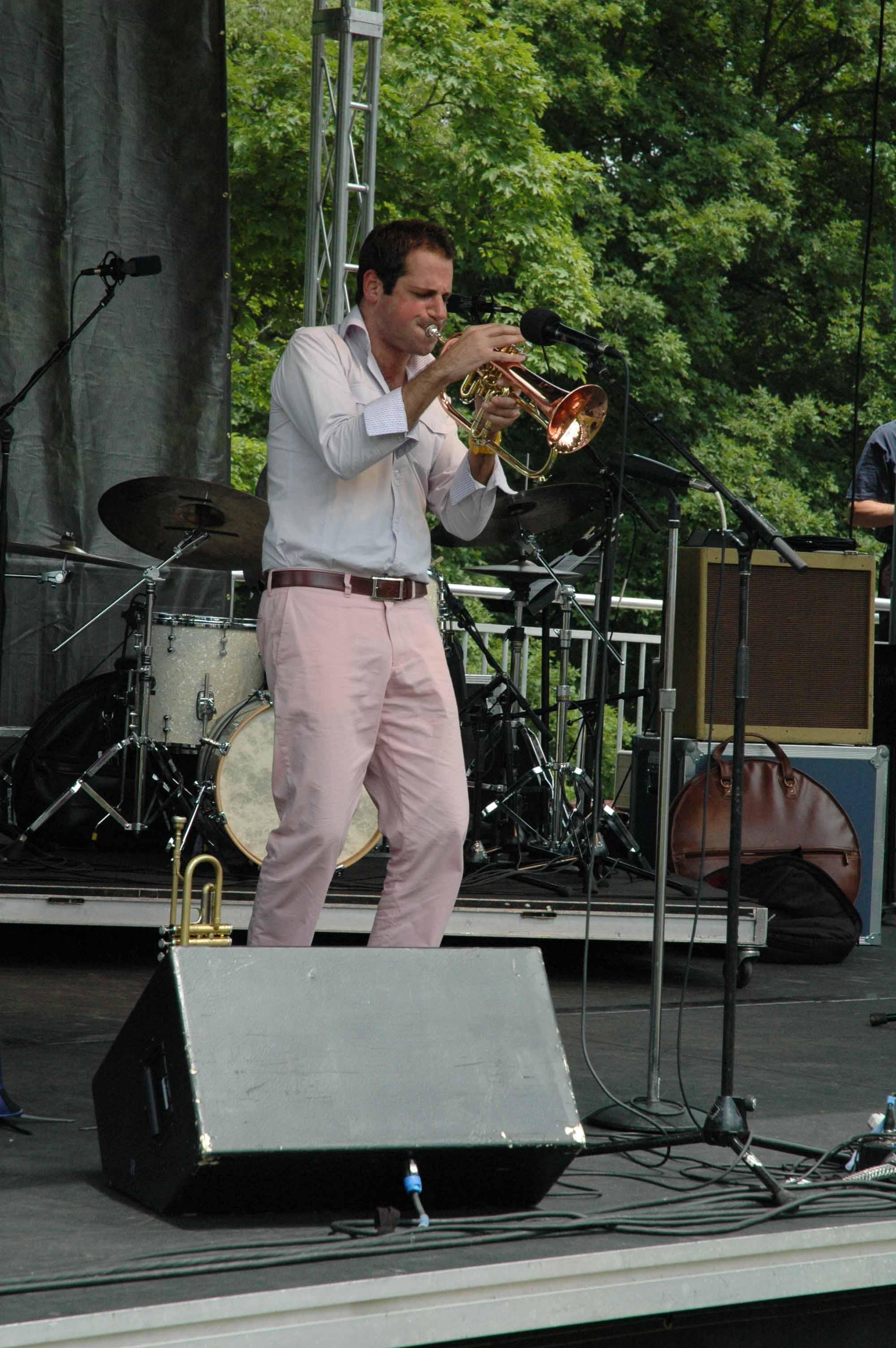 Dominick Farinacci at Longwood Gardens