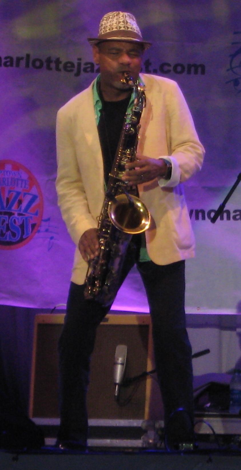 Kirk whalum,uptown jazz fest