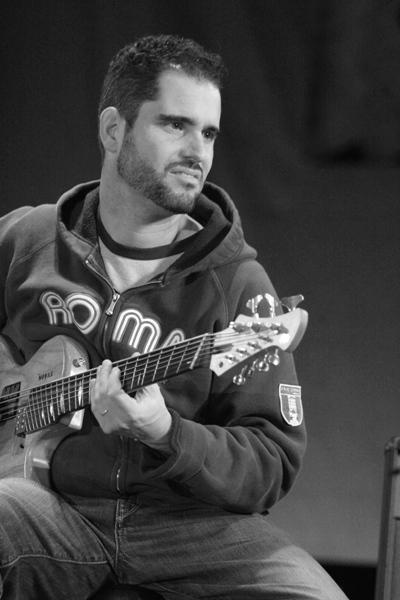 12 String Guitarist Charlie Hunter Headlines Friday Night's Program at the Chicago Jazz Festival; Chicago 2006