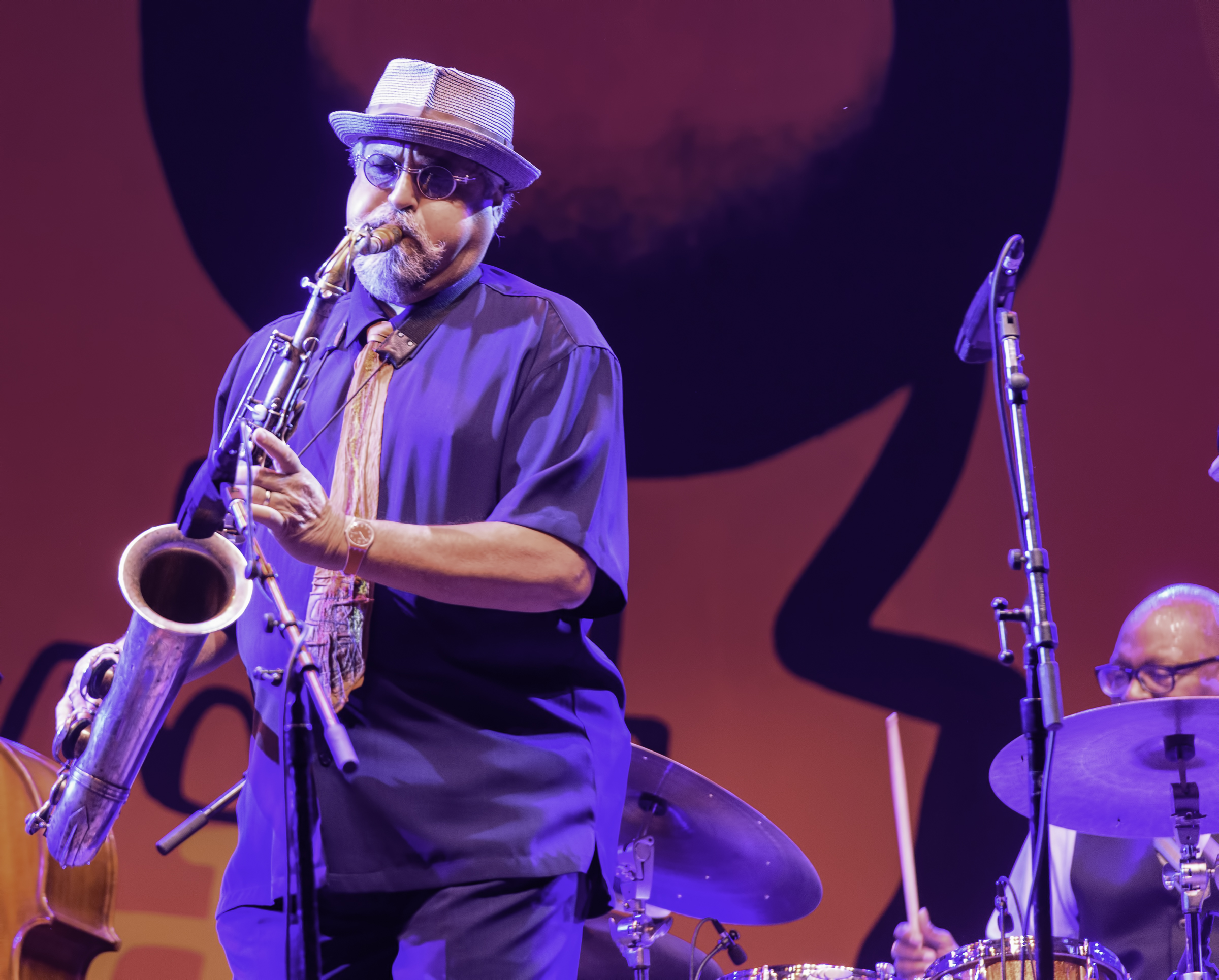 Joe Lovano and Lewis Nash with A Tribute to Sonny Rollins at the Monterey Jazz Festival