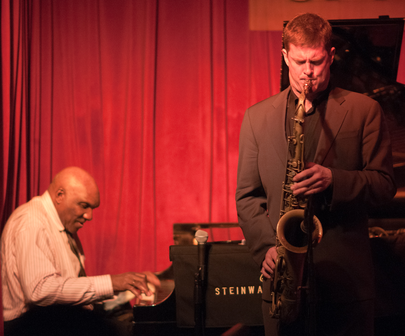 Harold Mabern and Eric Alexander with the Alexander & Mabern Quartet Play the Music of John Coltrane at Smoke Jazz Club