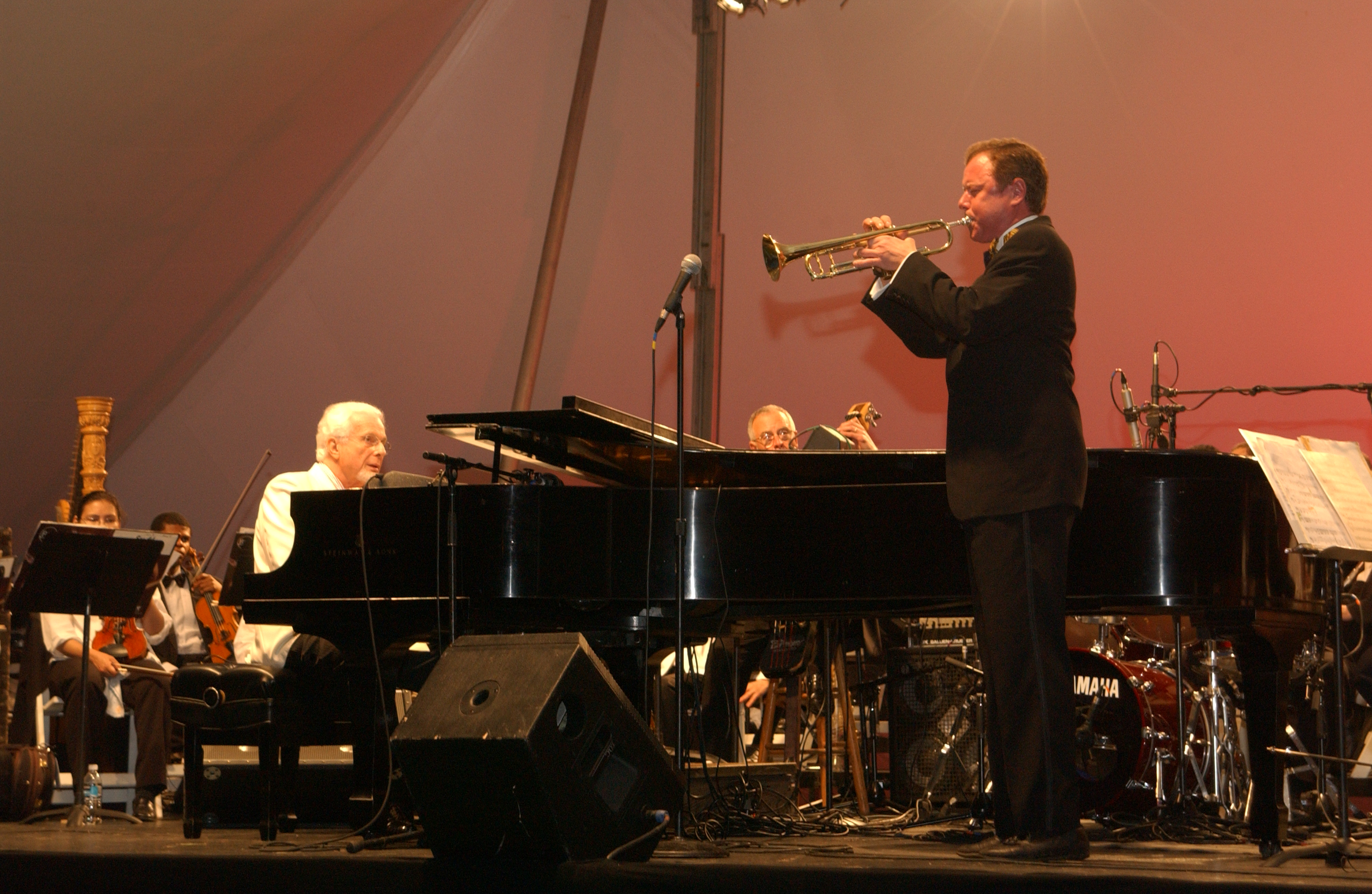 Bob Merrill with the Philly Pops and Peter Nero
