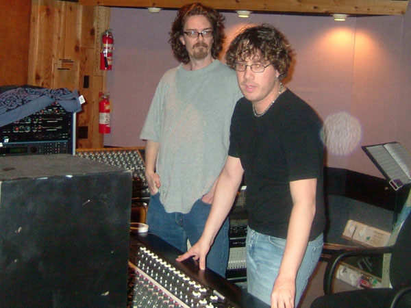 Sandro Albert and Dave Carpenter