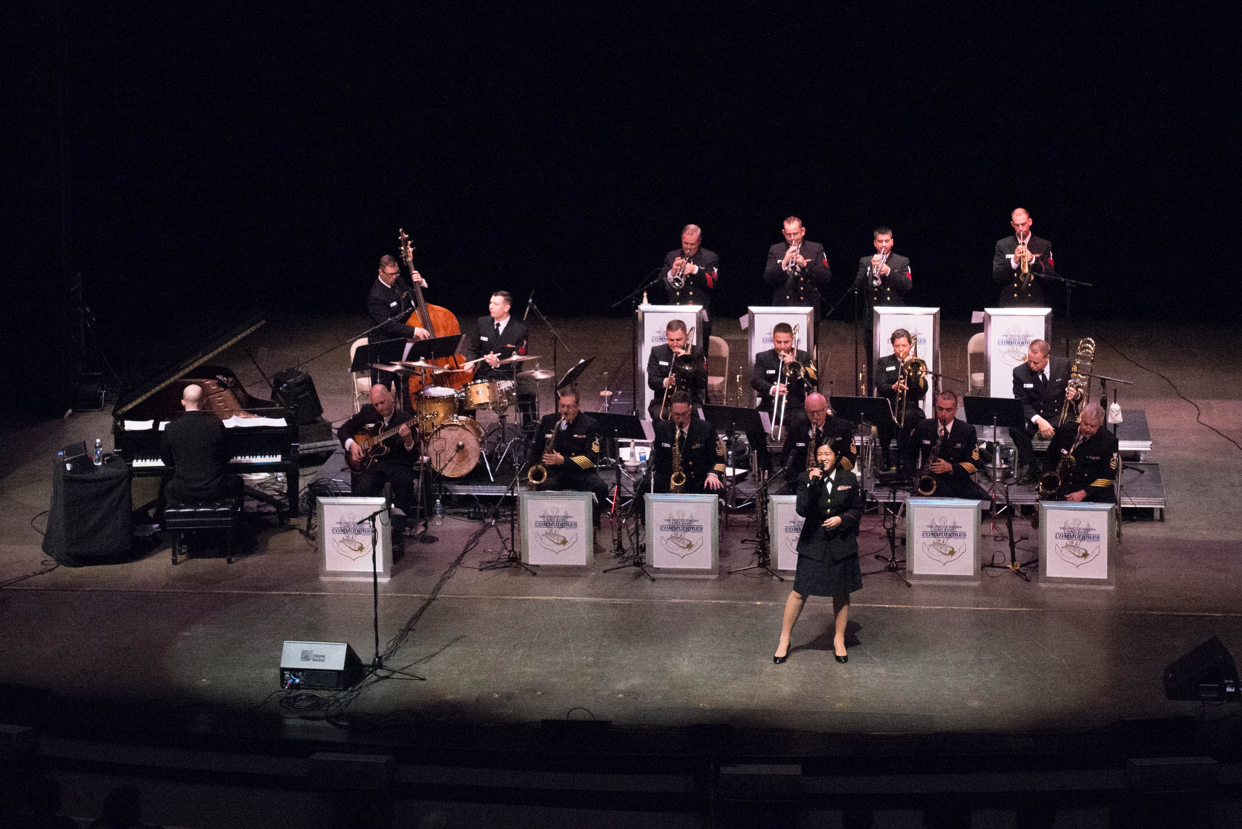 US Navy Commodores Jazz Band Small