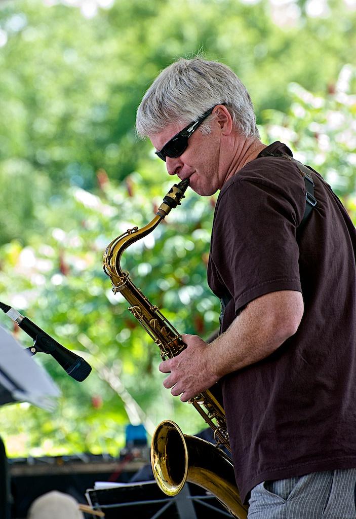 Mike Murley - Barry Elmes Quintet - Markham Jazz Festival 2012