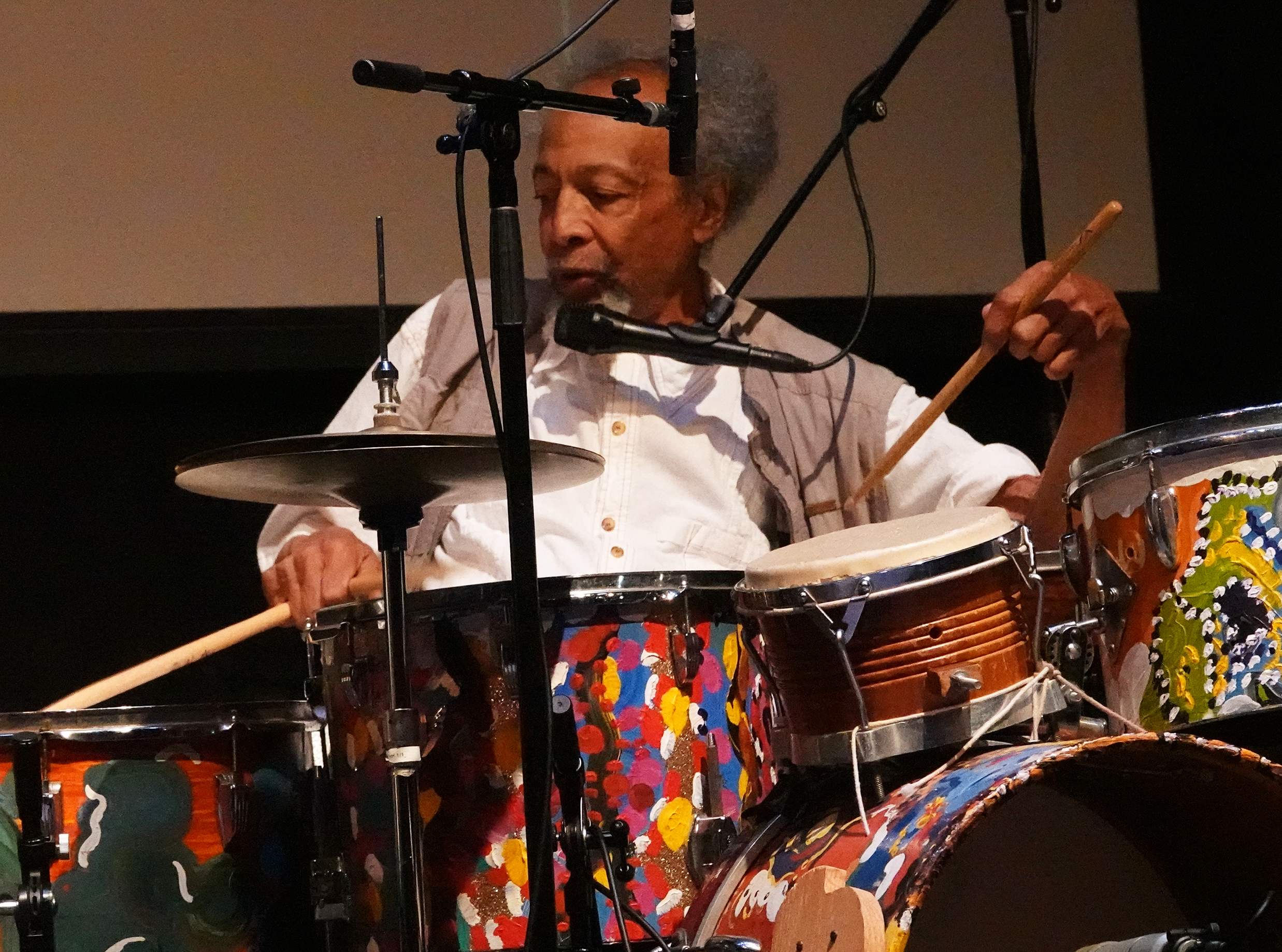 Milford Graves at 24th Annual Vision Festival