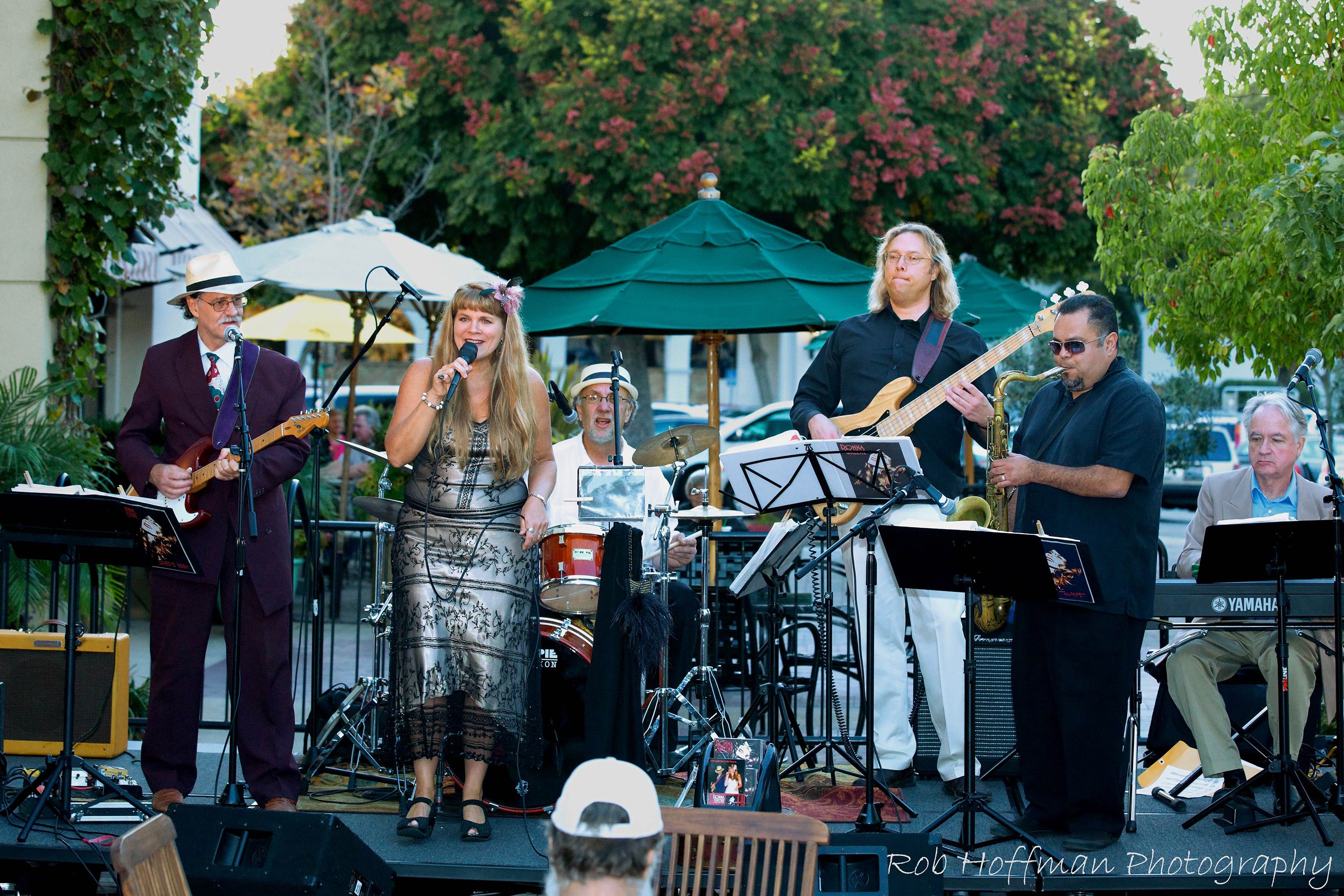 Donna Greene & the Roadhouse Daddies at Jazz at the Plaza