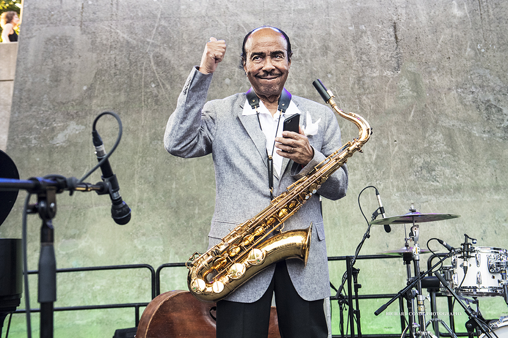 Benny Golson at the 2017 Detroit Jazz Festival