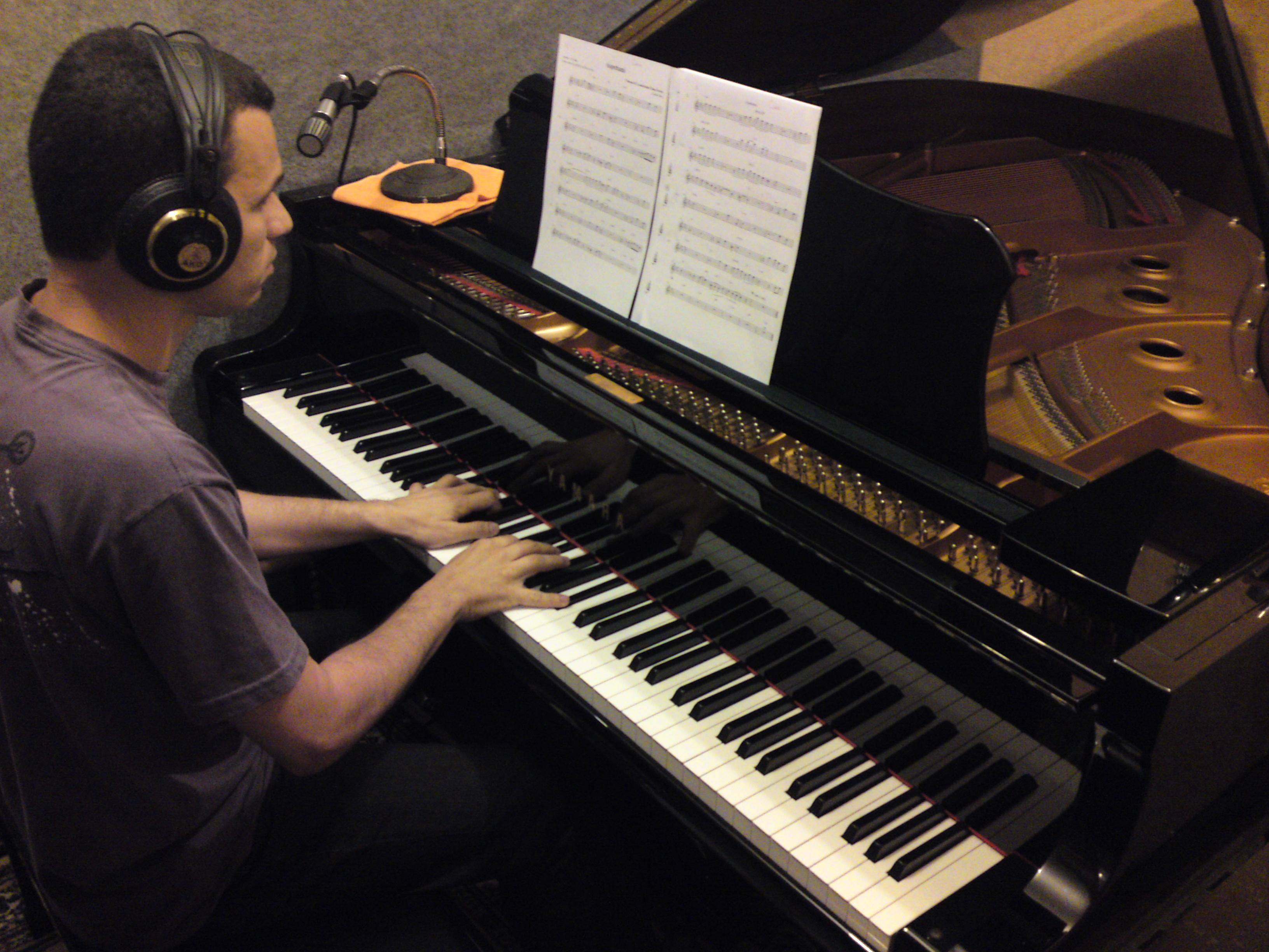Recording Session in Niteroi, Brazil