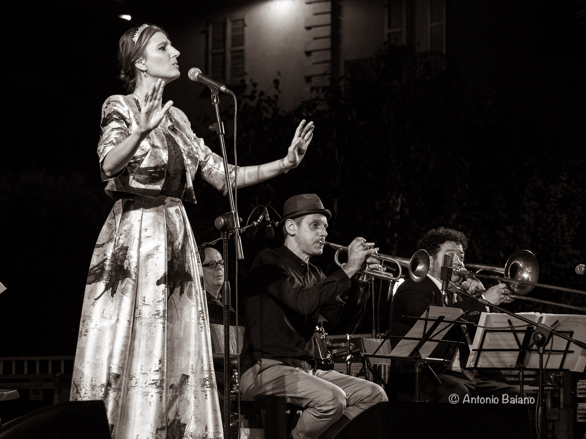 Vanessa Tagliabue, Fabrizio Bosso and Mauro Ottolini