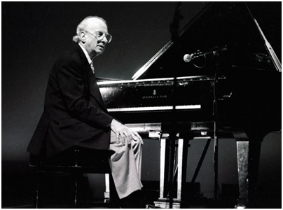 Dick Hyman 0869321 Brecon Int. Jazz Fest., Wales, UK. Aug. 1998 Images of Jazz