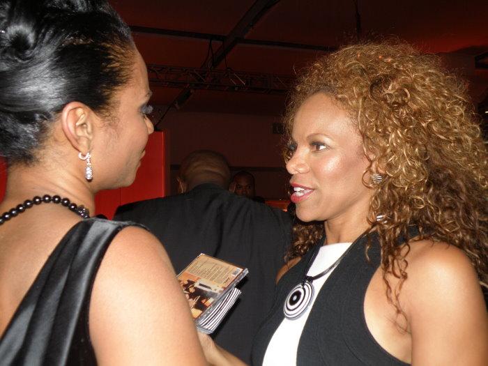 Stephanie Jordan with Donna Richardson - Oprah Winfrey and Friends of Susan Taylor