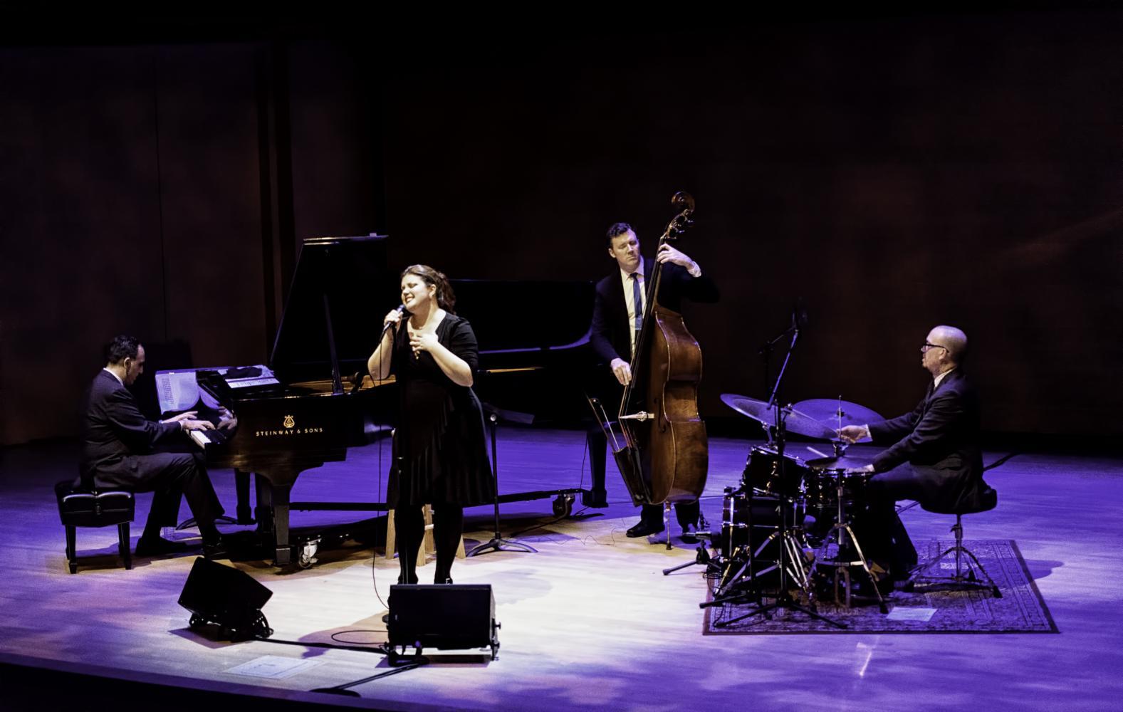 Michael Kanan, Jane Monheit, Neal Miner And Rick Montalbano At The Musical Instrument Museum (mim) In Phoenix