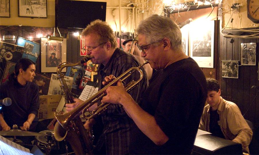Dave Scott Quintet with Rich Perry, John Hebert, Gary Versace and Take' Toriyama - 55 Bar 2007
