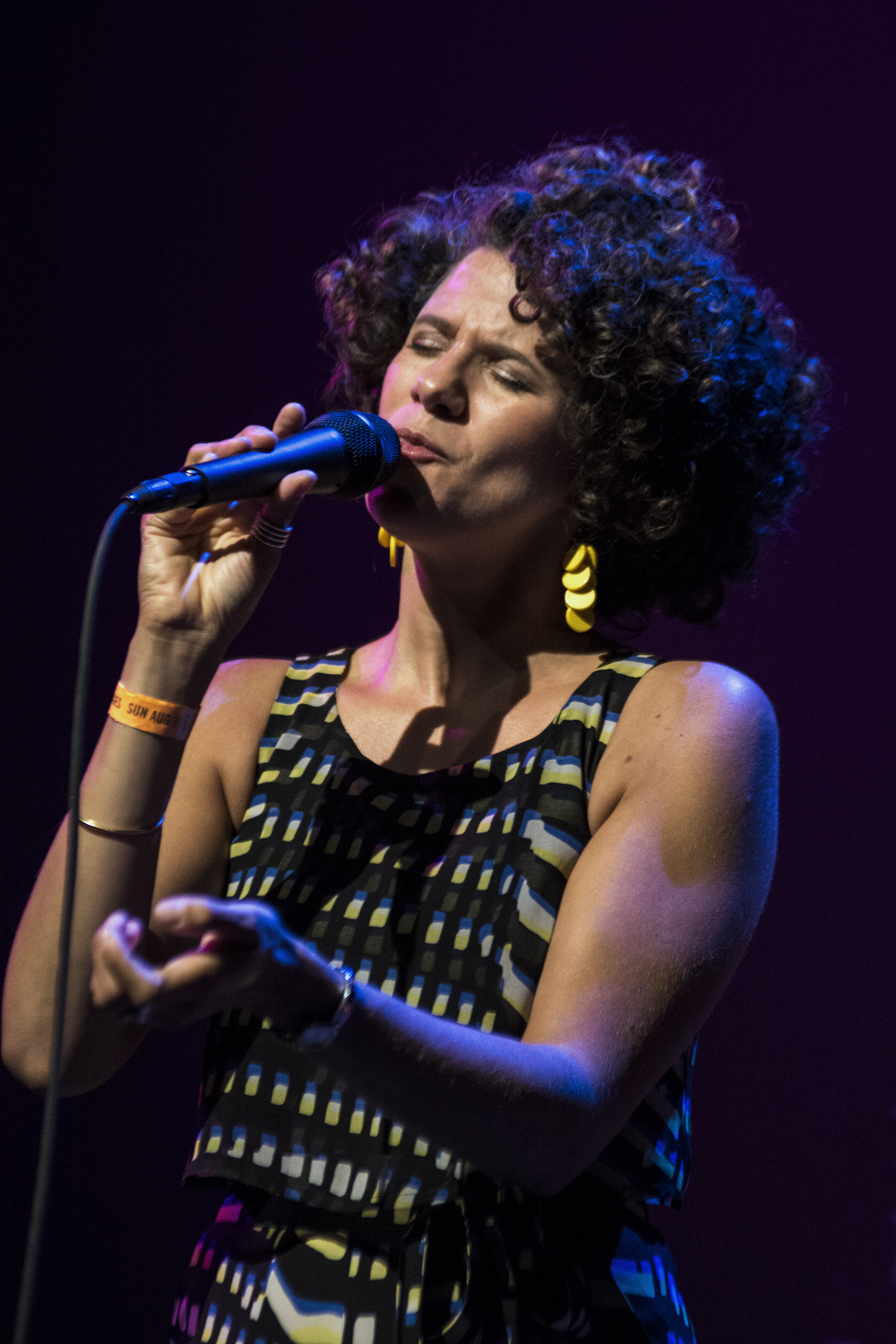 Cyrille Aimee at San Jose Jazz Summer Fest 2017