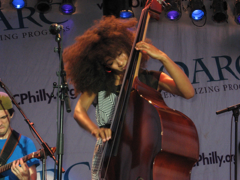 Esperaza Spalding at West Oak Lane Jazz Festival