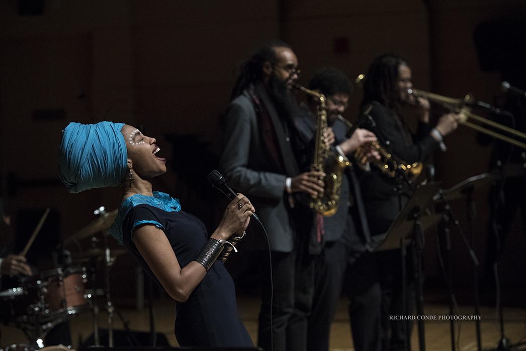 Jazzmeia Horn at the 2018 Winter Jazz Festival