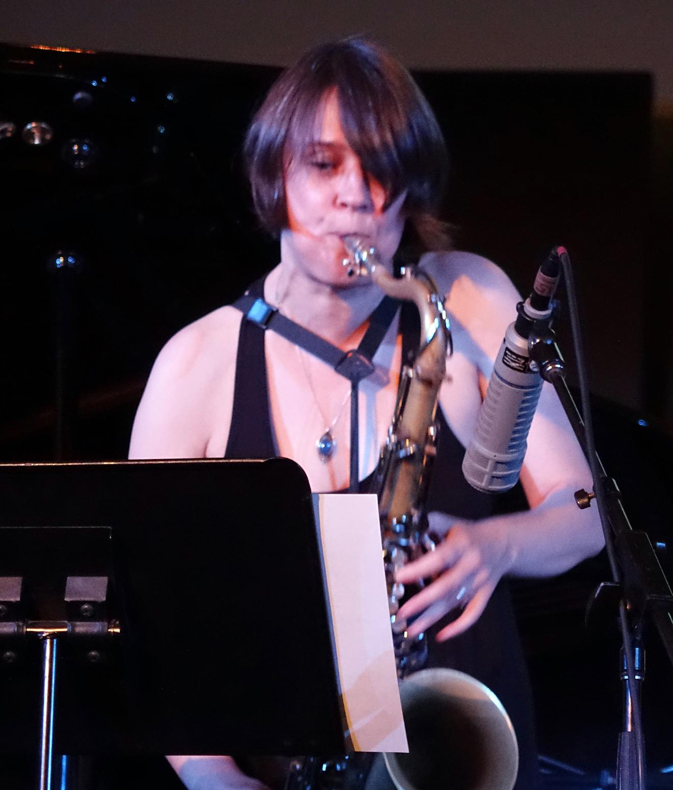 Ingrid Laubrock at Vision Festival 20