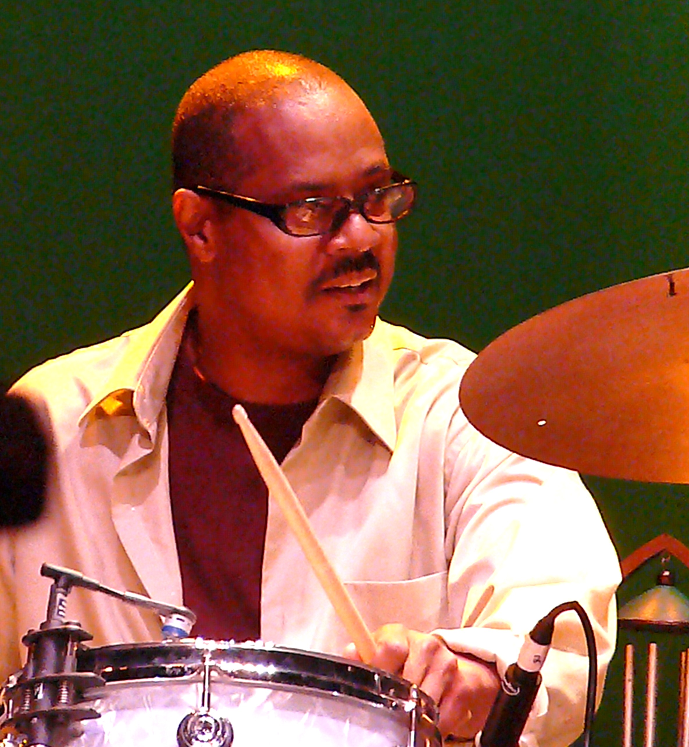Reggie Nicholson at Vision Festival 2010