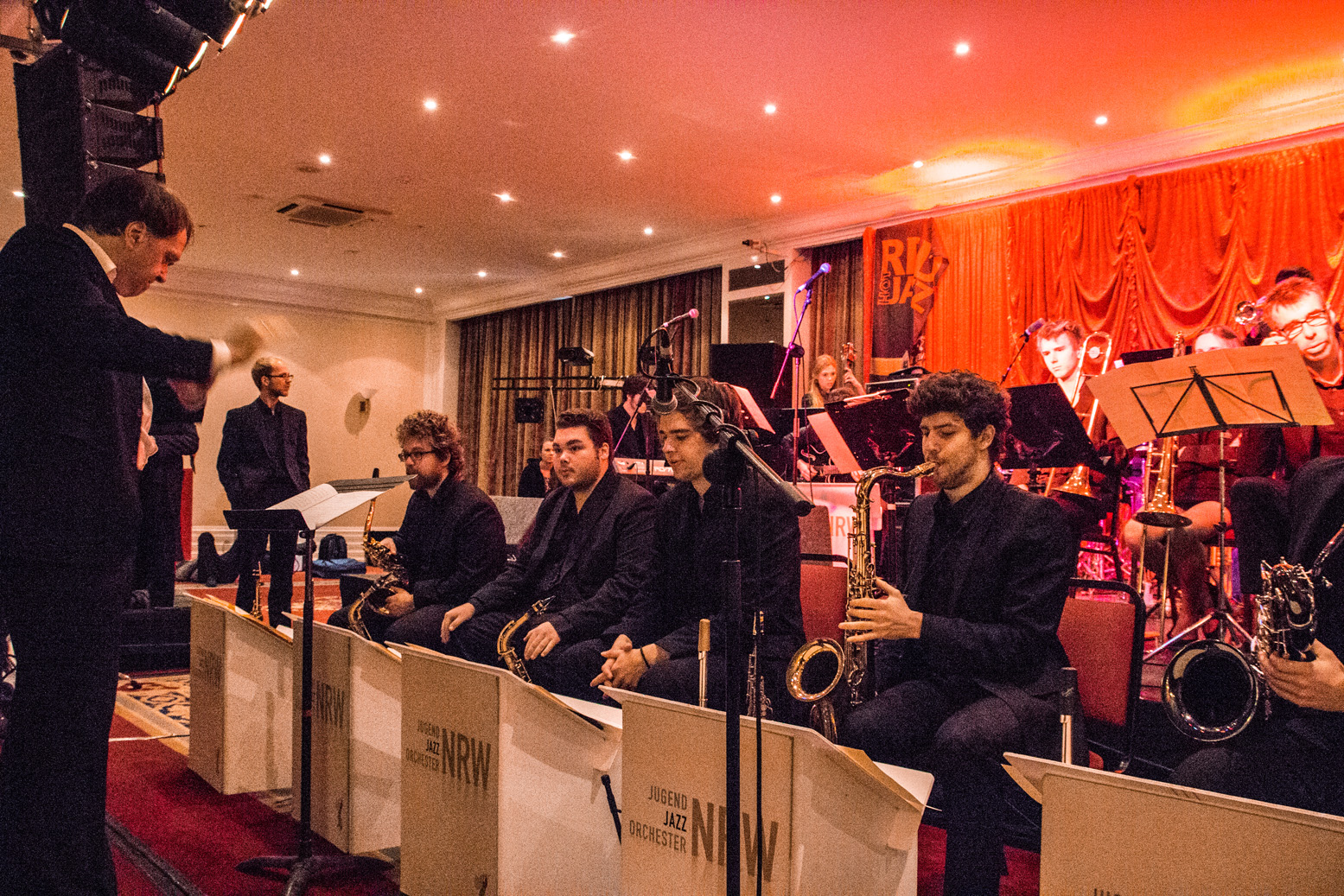 Jugend jazz orchester nrw at cork jazz festival