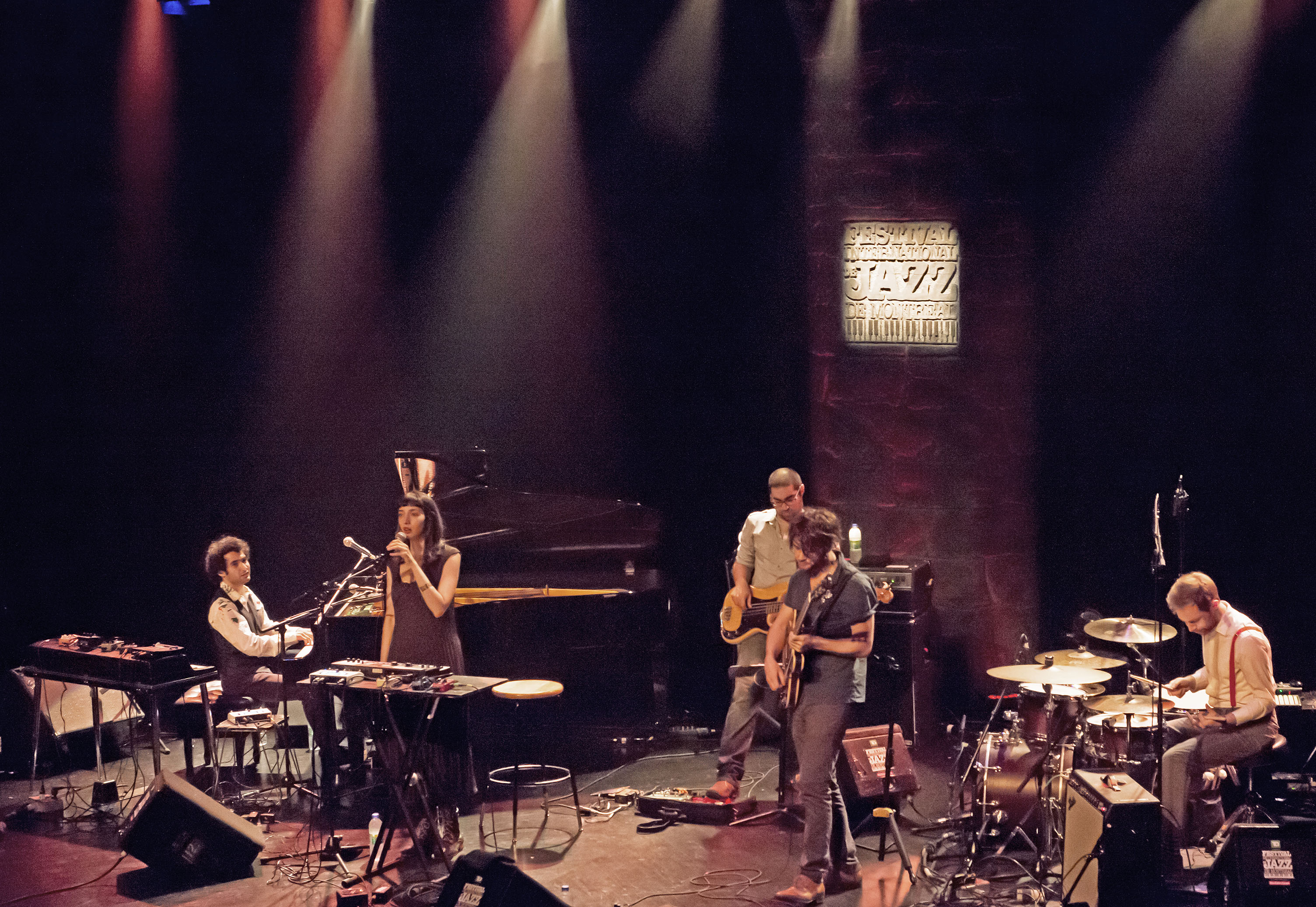 Tigran Shadow Theater at 2014 Festival International de Jazz de Montréal