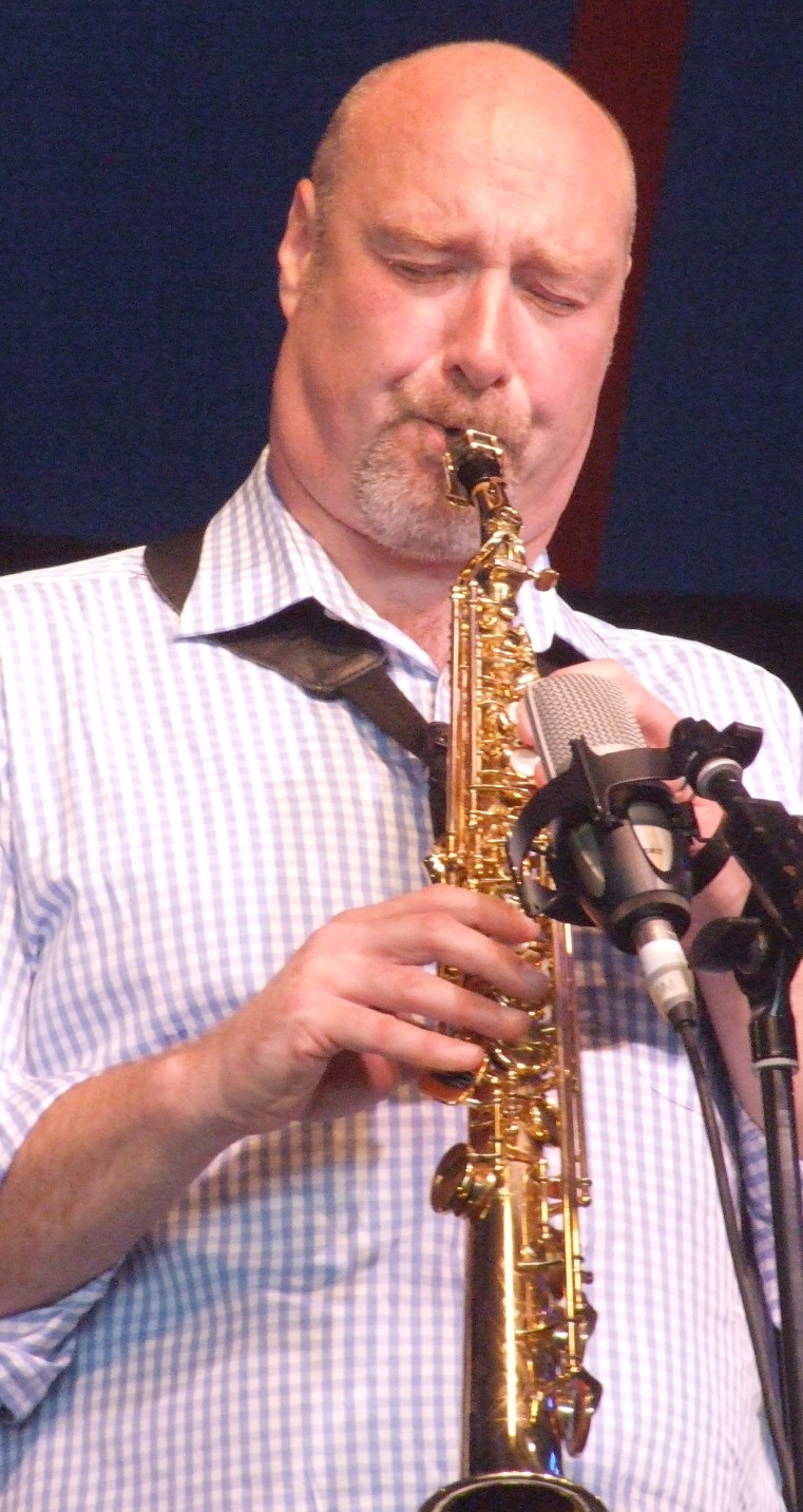Simon Bates with Paul Carmichael Flight; 2009 Ealing Jazz Festival