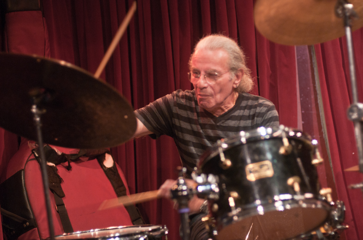 Barry Altschul In Duet With Jon Irabagon At Cornelia Street Cafe
