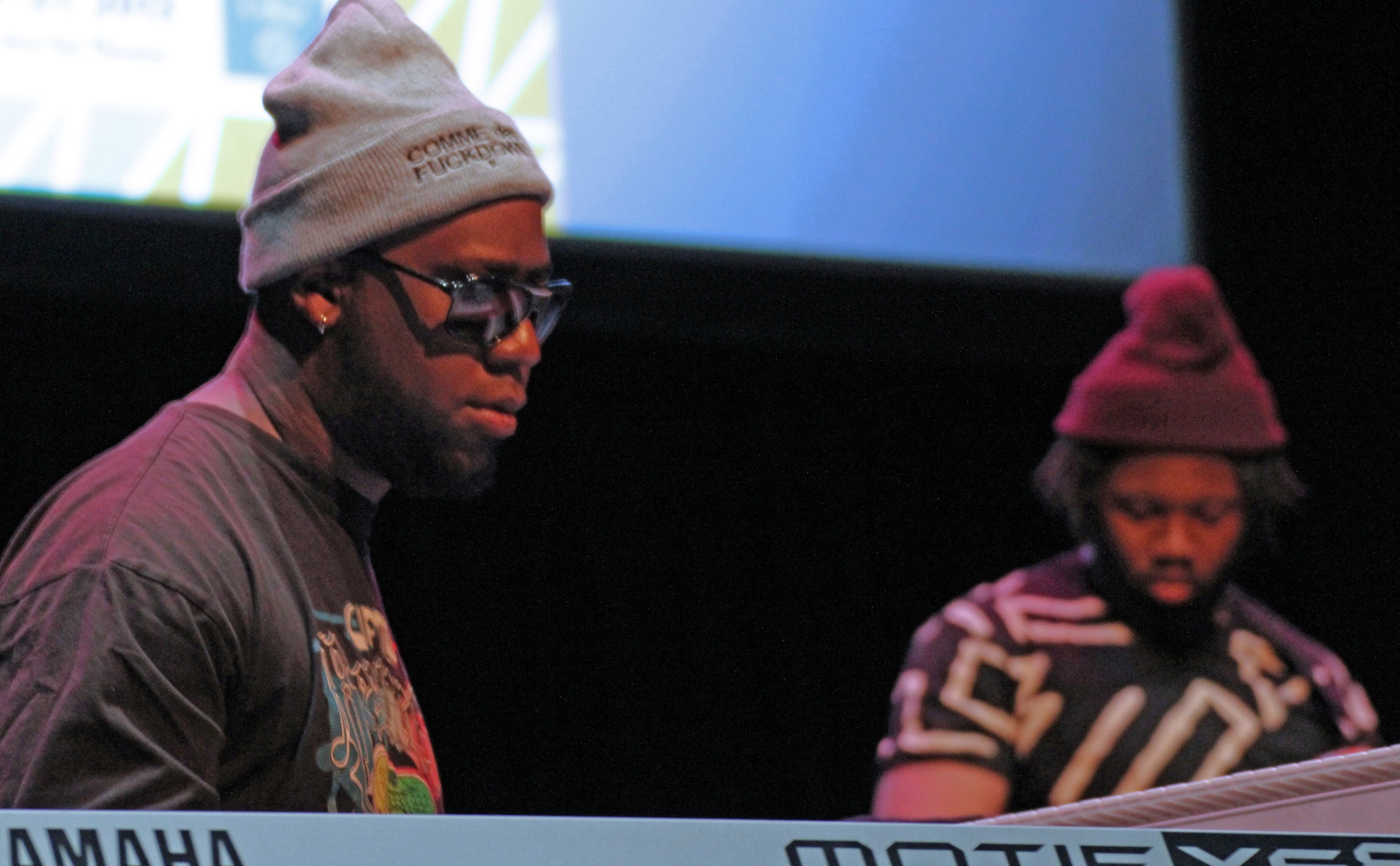 Robert glasper and burniss travis at tri-c jazzfest cleveland