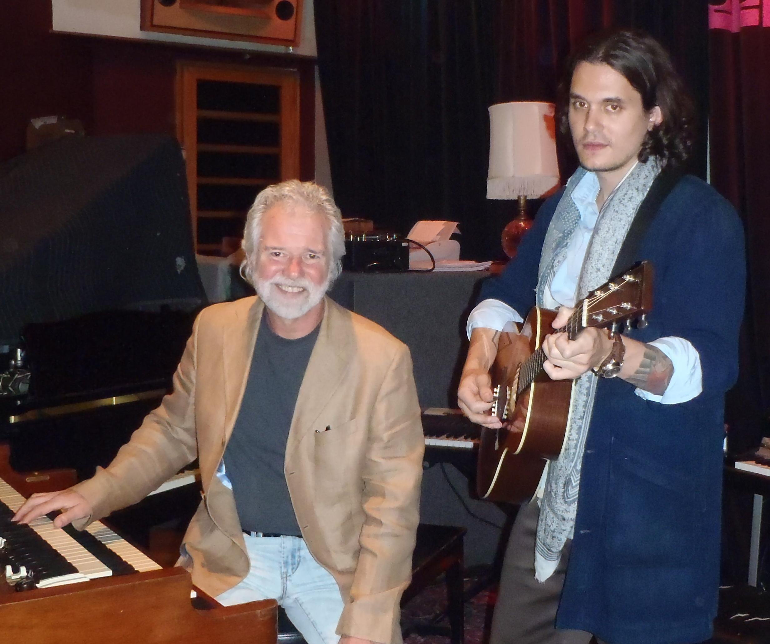 Chuck Leavell, John Mayer