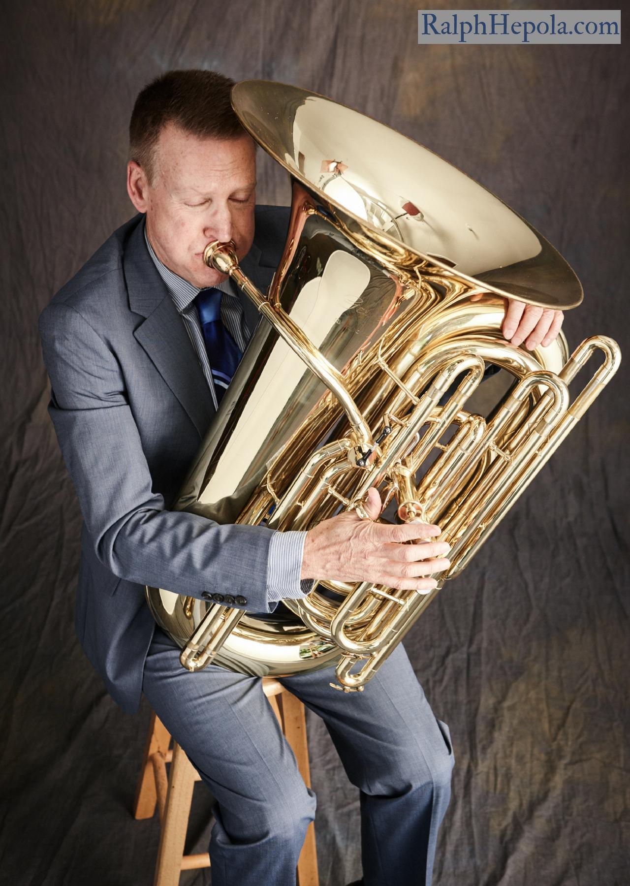 Ralph with C Tuba