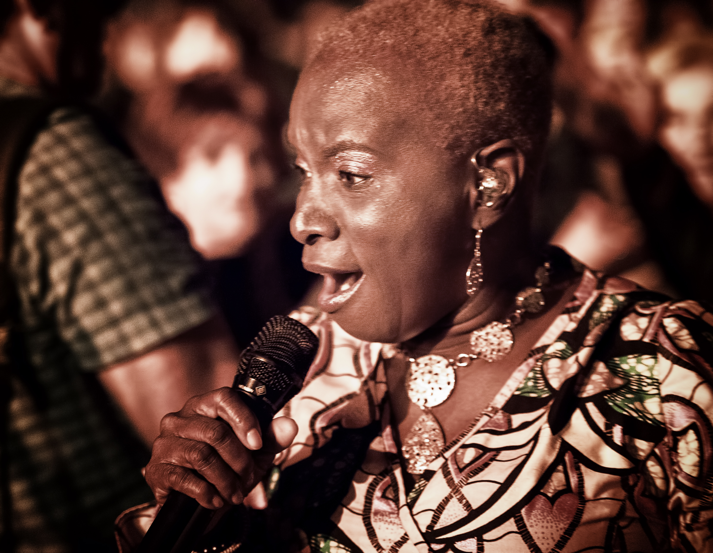 Angelique Kidjo with Angelique Kidjo's Tribute to Salsa at the Monterey Jazz Festival