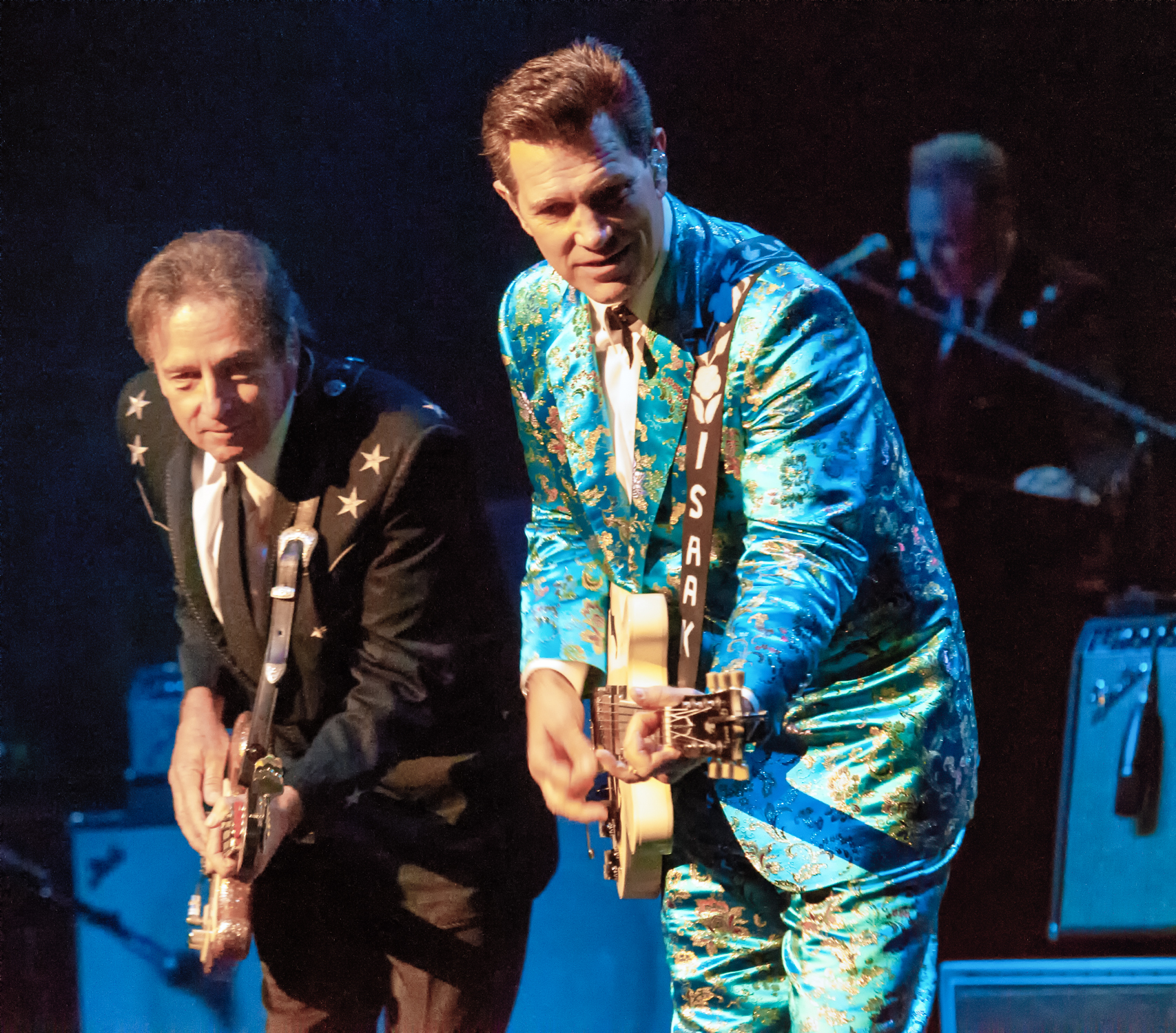 Rowland salley and chris isaak at the montreal international jazz festival 2013