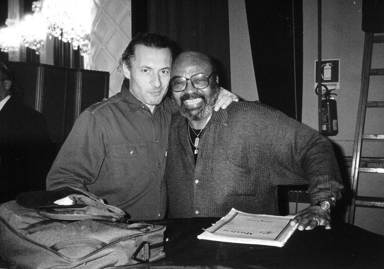 with James Moody, 2000