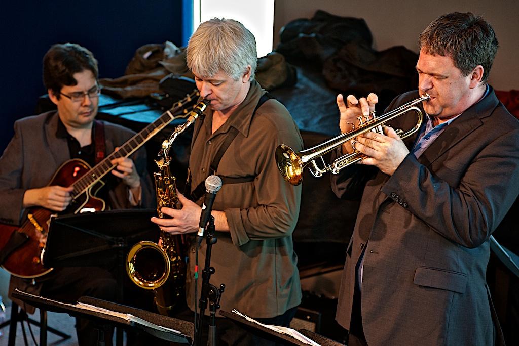 Reg Schwager, Mike Murley, Kevin Turcotte - Barry Elmes Quintet - York University - Toronto