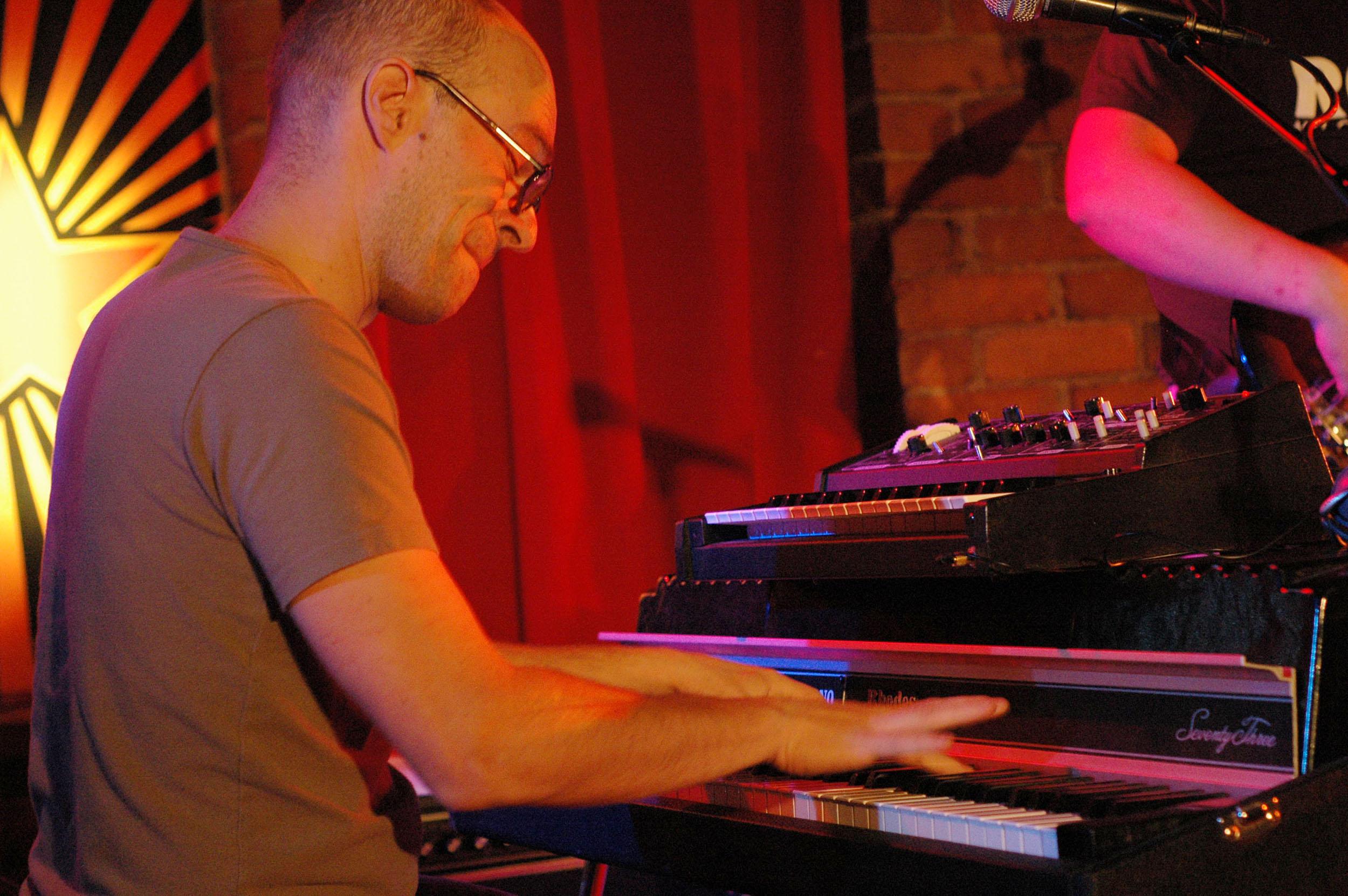 Kari Ikonen of Kolhoz at 2010 Tampere Jazz Happening