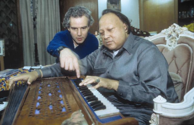 Nusrat Fateh Ali Khan and Michael Brook