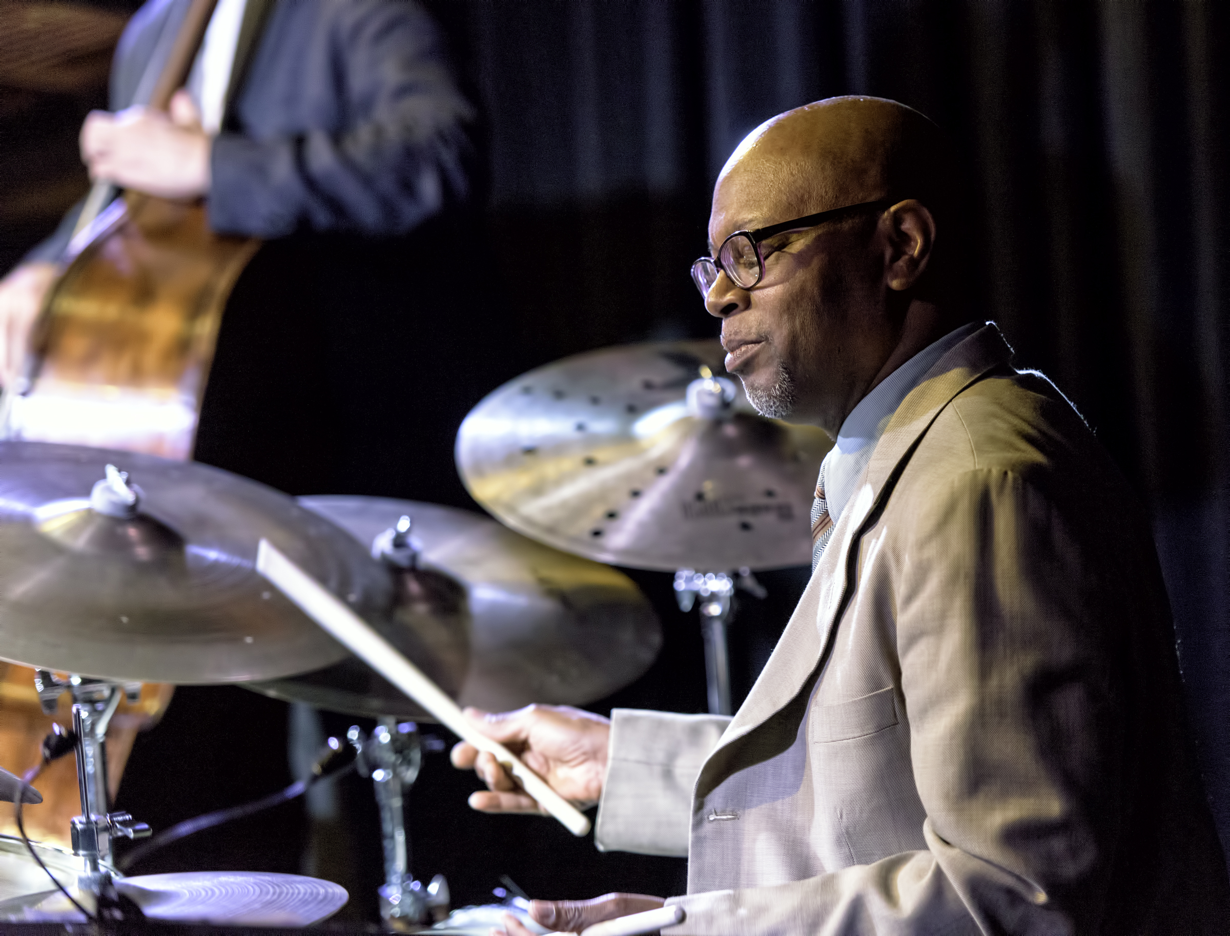 Lewis Nash With Cecile Mclorin Salvant At The Nash In Phoenix